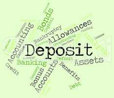 Deposit Word Means Part Payment And Advance