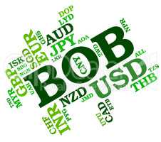 Bob Currency Means Bolivia Boliviano And Broker