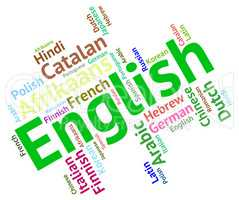 English Language Means Learn Catalan And Dialect
