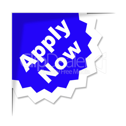 Apply Now Shows At This Time And Application