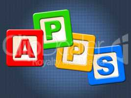 Apps Kids Blocks Shows Application Software And Computing