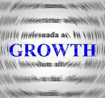 Growth Definition Means Means Improvement And Develop