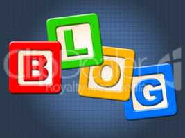 Blog Blocks Shows Childhood Blogging And Youths