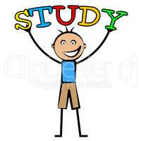 Kids Study Means Tutoring Child And Schooling
