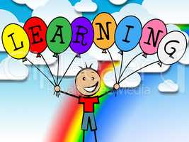 Learning Balloons Represents Tutoring College And Development