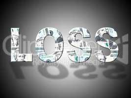 Loss Dollars Shows United States And American
