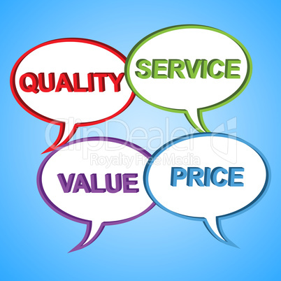 Quality Words Indicates Satisfied Satisfaction And Certified