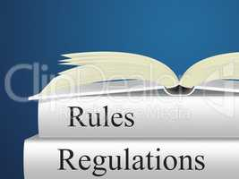 Regulations Rules Represents Protocol Guidance And Regulated
