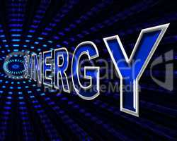 Synergy Energy Means Power Source And Collaborate
