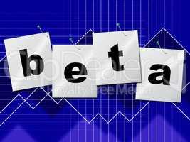 Download Beta Indicates Internet Testing And Demo
