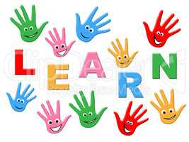 Learn Kids Represents Childhood Schooling And Training