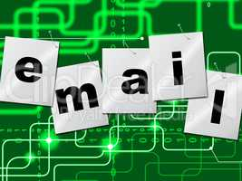 Emails Email Shows Send Message And Correspond
