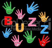 Kids Buzz Shows Public Relations And Youth