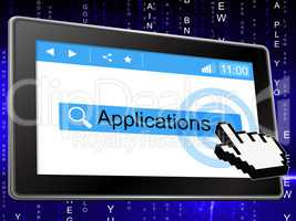 Applications Online Means World Wide Web And Searching