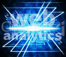 Web Analytics Means Www Optimize And Online
