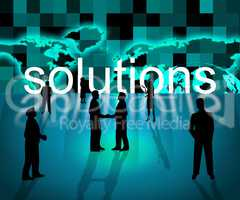 Solutions Business Means Resolution Trade And Corporation
