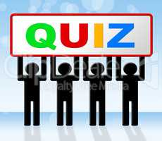 Exam Quiz Means Questions And Answers And Examination
