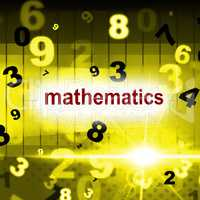 Mathematics Counting Shows One Two Three And Maths