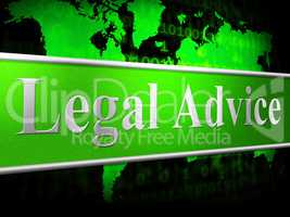 Legal Advice Means Judgment Solution And Court