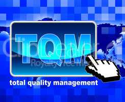 Total Quality Management Means World Wide Web And Administration