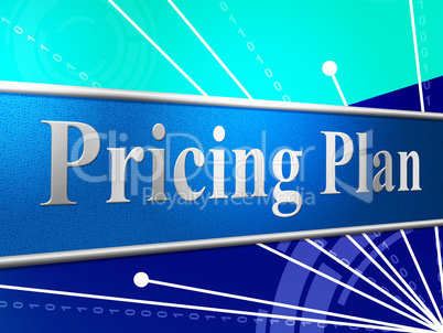Pricing Plan Represents Stratagem Strategy And Idea