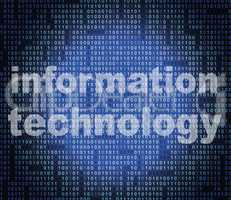 Information Technology Shows Assistance Advisor And Support