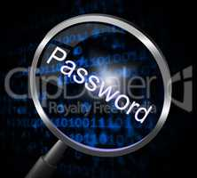 Magnifier Password Shows Sign In And Account