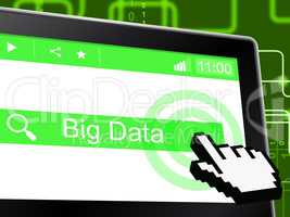 Big Data Indicates World Wide Web And Online