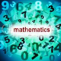 Mathematics Counting Shows One Two Three And Tutoring