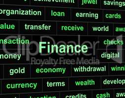 Economy Finance Means Investment Trading And Figures