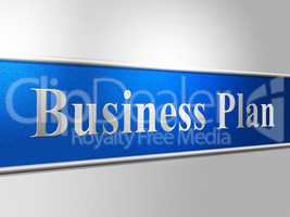 Plan Business Represents Proposal Suggestion And Stratagem