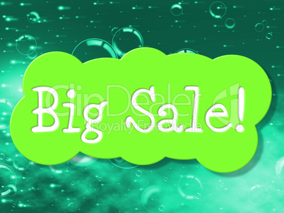 Big Sale Shows Save Clearance And Promotional