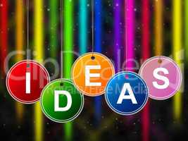 Ideas Kids Represents Creativity Child And Youngsters