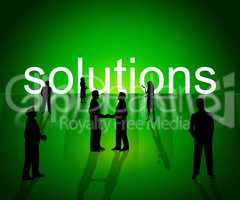 Solutions Business Shows Company Resolution And Successful