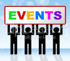Event Events Represents Function Affair And Affairs