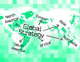 Global Strategy Shows Globally Innovation And Planet