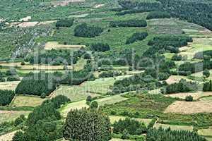 Spanien Galicien Landschaft