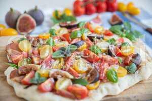 Tomaten Pizza