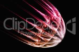 Fractal image: virtual jellyfish.
