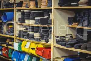 Shoe insole in shelf
