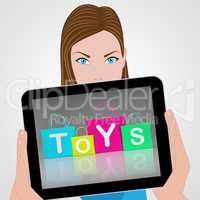 Toys Bags Displays Retail Shopping and Buying