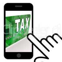 Tax On Credit Debit Card Displays Taxes Return IRS