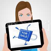 Handstand For Sale Shopping Bag Displays Selling Sold Offer