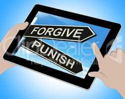 Forgive Punish Tablet Means Forgiveness Or Punishment