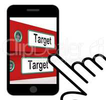 Target Folders Displays Business Goals And Objectives