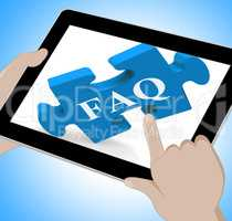 FAQ Tablet Means Website Solutions Help And Information