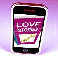 Love Stories Phone Gives Tales of Romantic and loving Feelings