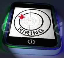 Hiring Smartphone Displays Online Recruitment For Job Position