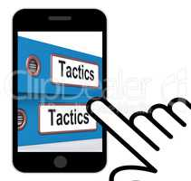 Tactics Folders Displays Organisation And Strategic Methods