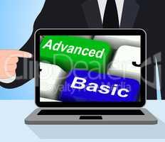 Advanced And Basic Keys Displays Program Levels Plus Pricing